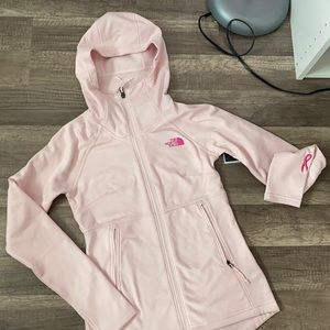 NWT baby pink north face